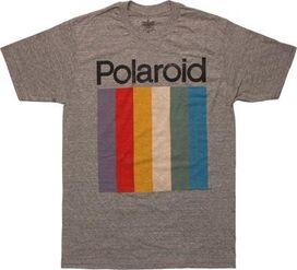 Polaroid Logo T-Shirt Sheer