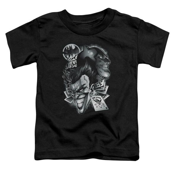 Batman Archenemies Short Sleeve Toddler Tee Black Sm T-Shirt