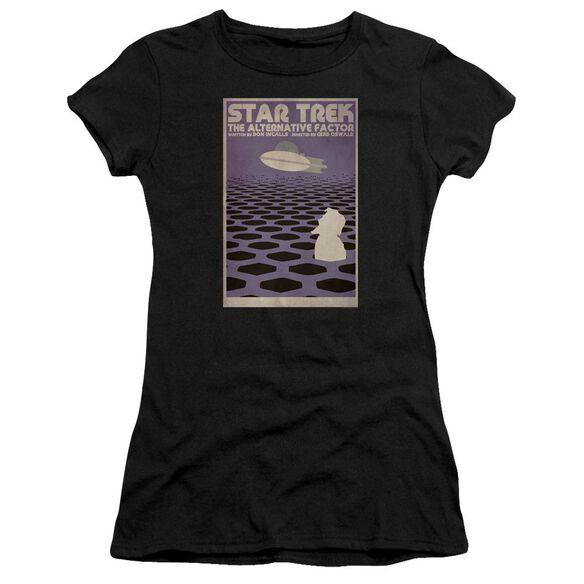 Star Trek Tos Episode 27 Short Sleeve Junior Sheer T-Shirt