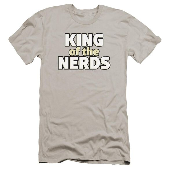 King Of The Nerds Stacked Logo Premuim Canvas Adult Slim Fit