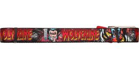 X Men Wolverine Name and Poses Mesh Belt