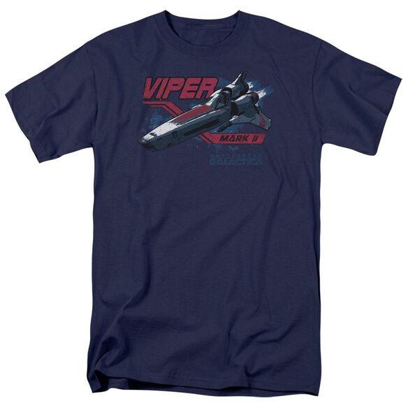 BSG VIPER MARK II - S/S ADULT 18/1 - NAVY T-Shirt