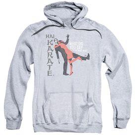 Hai Karate Name Adult Pull Over Hoodie Athletic