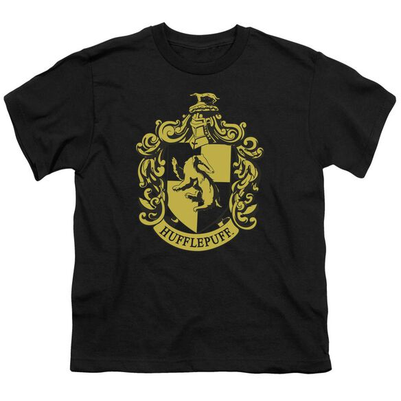 Harry Potter Hufflepuff Crest Short Sleeve Youth T-Shirt