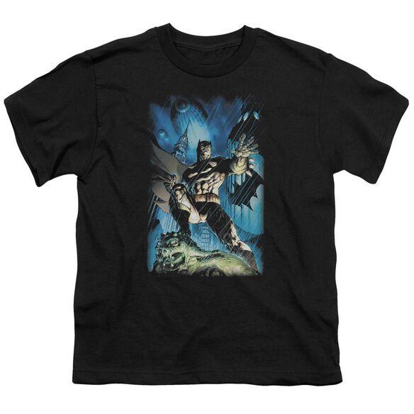 Batman Stormy Dark Knight Short Sleeve Youth T-Shirt