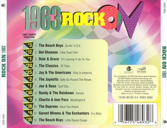 Rock On 1963