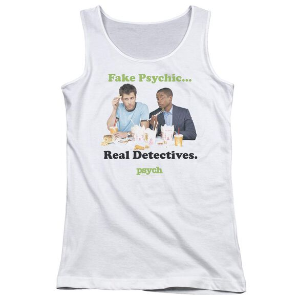 Psych Take Out Juniors Tank Top