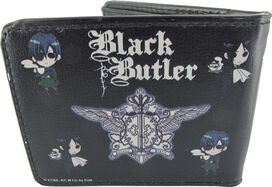 Black Butler Seal Crest Chibi Duo Wallet