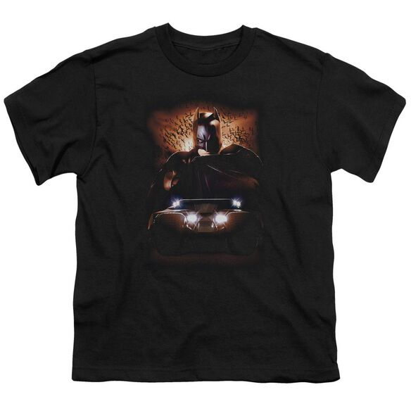 Batman Begins Batman & Tumbler Short Sleeve Youth T-Shirt