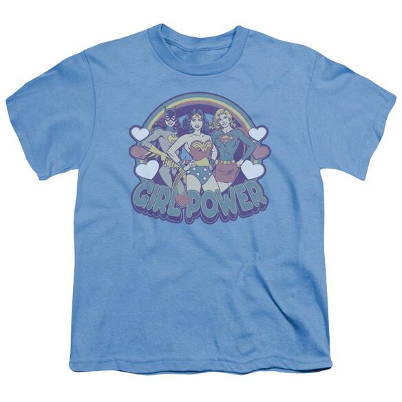 Dc Retro Girl Power Short Sleeve Youth Carolina T-Shirt