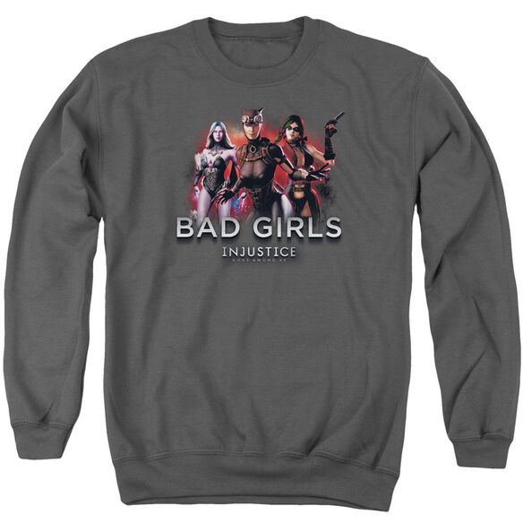 Injustice Gods Among Us Bad Girls Adult Crewneck Sweatshirt