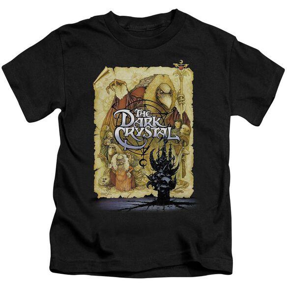 Dark Crystal Poster Short Sleeve Juvenile Black T-Shirt