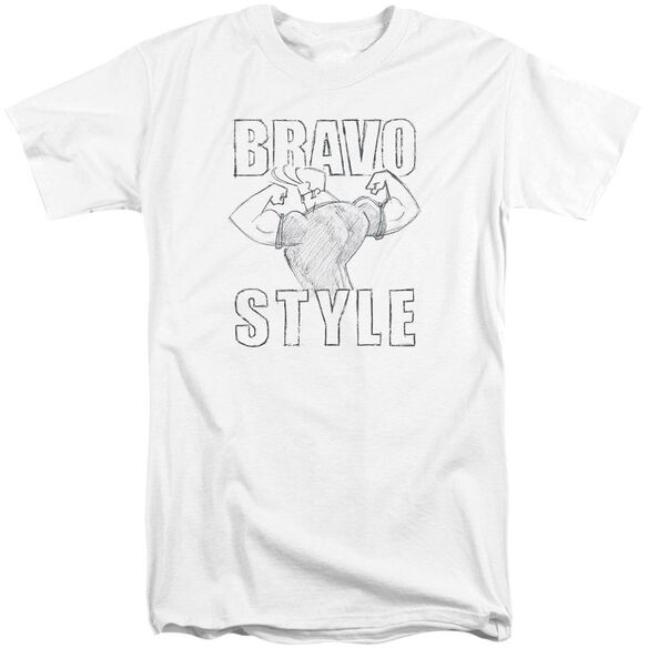 Johnny Bravo Bravo Style Short Sleeve Adult Tall T-Shirt