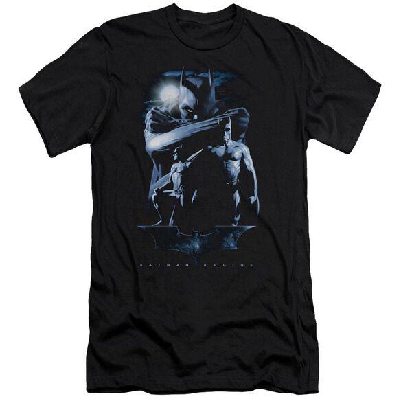 Batman Begins Forlorn Future Short Sleeve Adult T-Shirt