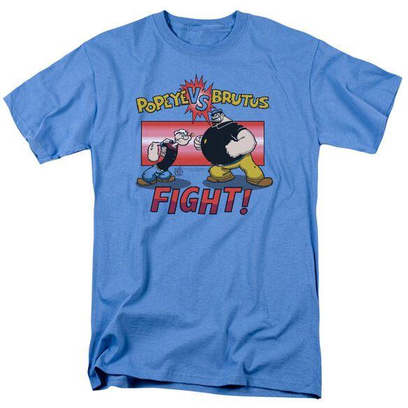 Popeye Flight Short Sleeve Adult Carolina Blue T-Shirt