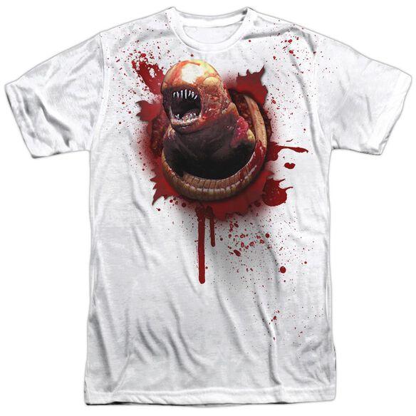 Alien Chestburster Short Sleeve Adult Poly Crew T-Shirt