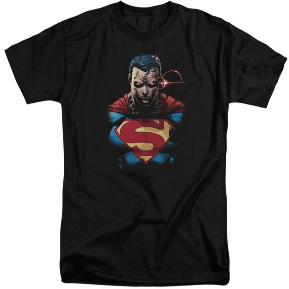 Superman Displeased Short Sleeve Adult Tall T-Shirt