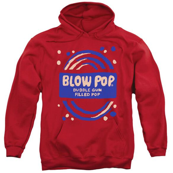 Tootsie Roll Blow Pop Rough Adult Pull Over Hoodie