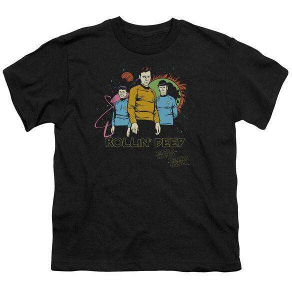 Star Trek Rollin Deep Short Sleeve Youth T-Shirt