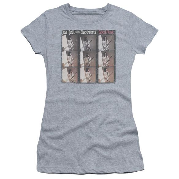 Joan Jett Good Music Short Sleeve Junior Sheer Athletic T-Shirt