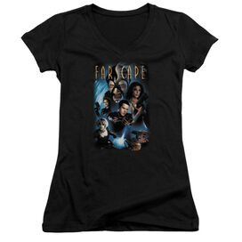 Farscape Comic Cover Junior V Neck T-Shirt