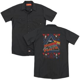 Pink Floyd Dark Side (Back Print) Adult Work Shirt