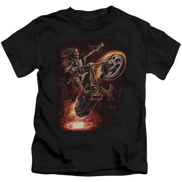 Anne Stokes Hellrider Short Sleeve Juvenile T-Shirt