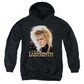 Labyrinth Jareth Youth Pull Over Hoodie