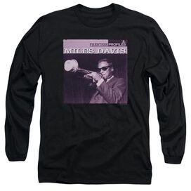 Miles Davis Prince Long Sleeve Adult T-Shirt
