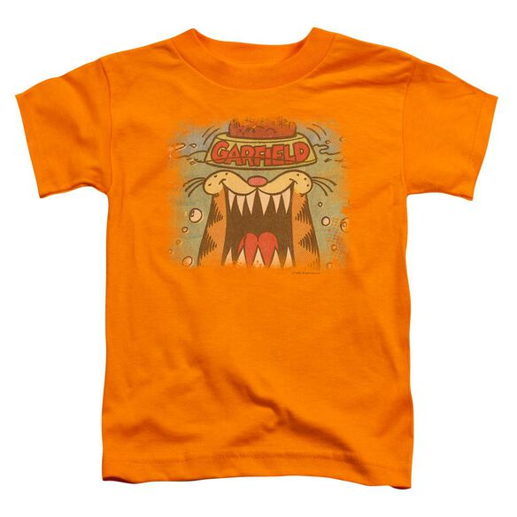 Garfield From The Depths Short Sleeve Toddler Tee Orange Lg T-Shirt