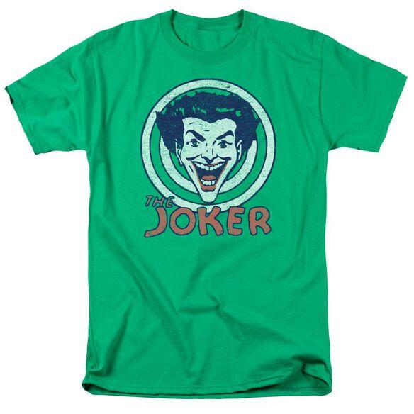 Dc Joke Target Short Sleeve Adult Kelly T-Shirt