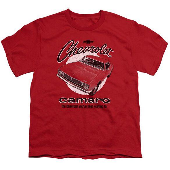 Chevrolet Retro Camaro Short Sleeve Youth T-Shirt