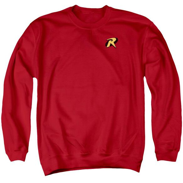 Batman Robin Logo Adult Crewneck Sweatshirt