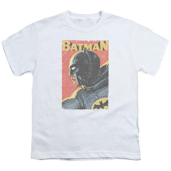 Batman Classic Tv Vintman Short Sleeve Youth T-Shirt