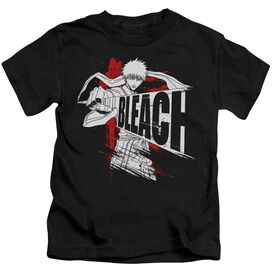 Bleach Sword Drawn Short Sleeve Juvenile Black T-Shirt