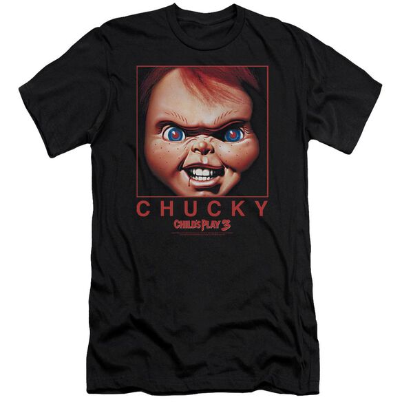 Childs Play Chucky Squared Premuim Canvas Adult Slim Fit