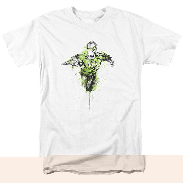 Green Lantern Inked Short Sleeve Adult T-Shirt