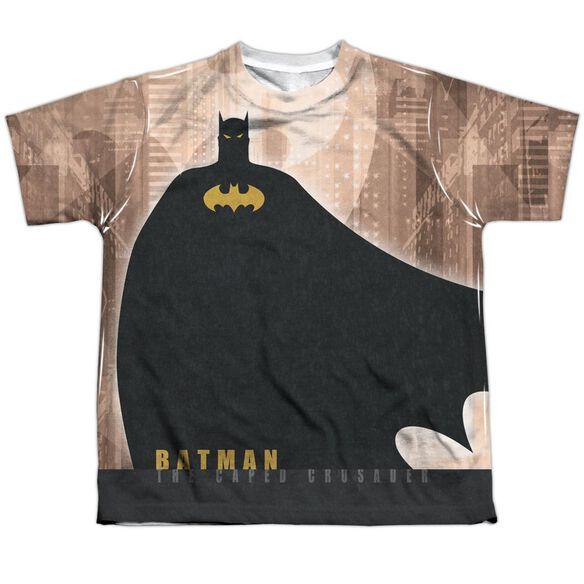 Batman City Crusader Short Sleeve Youth Poly Crew T-Shirt