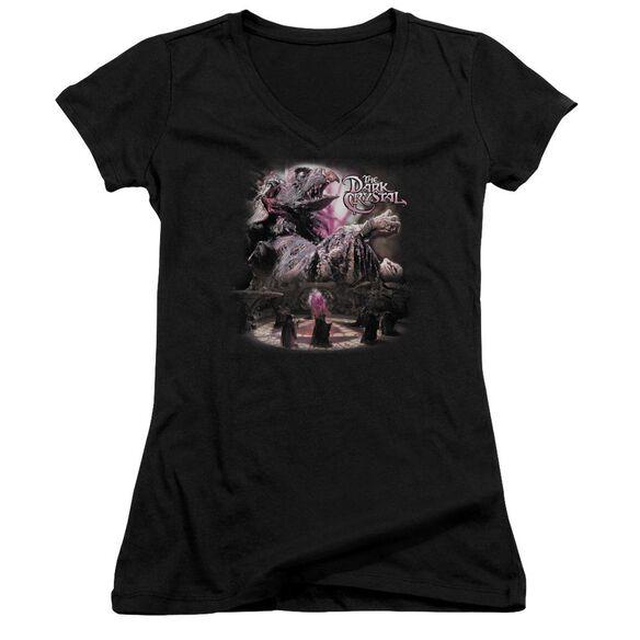 Dark Crystal Power Mad Junior V Neck T-Shirt