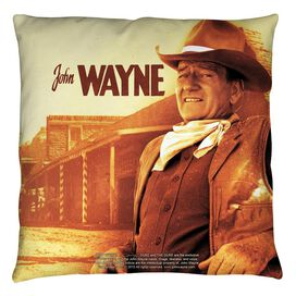 John Wayne Old West Throw Pillow