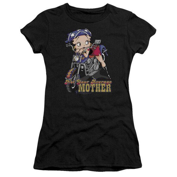 Betty Boop Not Your Average Mother Premium Bella Junior Sheer Jersey