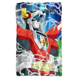 Voltron Lightning Combine Fleece Blanket