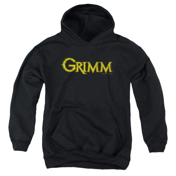Grimm Gold Logo Youth Pull Over Hoodie