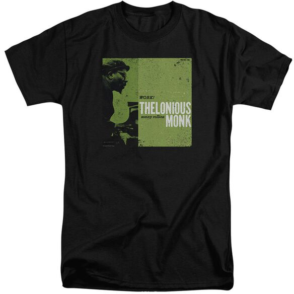 Thelonious Monk Work Short Sleeve Adult Tall T-Shirt