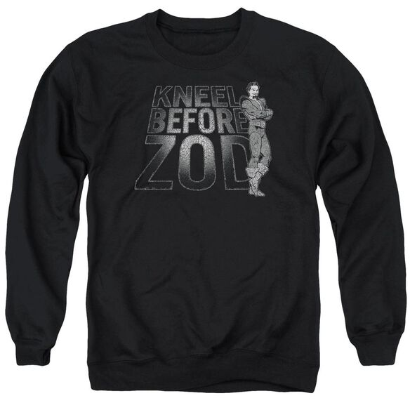 Dc Kneel Zod Adult Crewneck Sweatshirt
