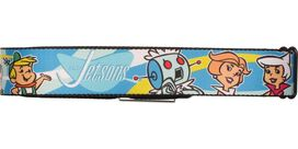 Jetsons Family Heads Seatbelt Mesh Belt