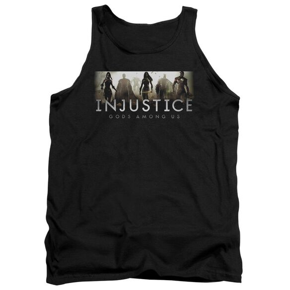 Injustice Gods Among Us Logo Adult Tank