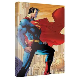 Superman City Watch Quickpro Artwrap Back Board