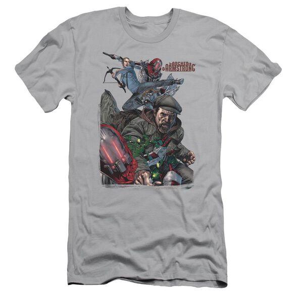 Archer & Armstrong Bottle Smash Short Sleeve Adult T-Shirt