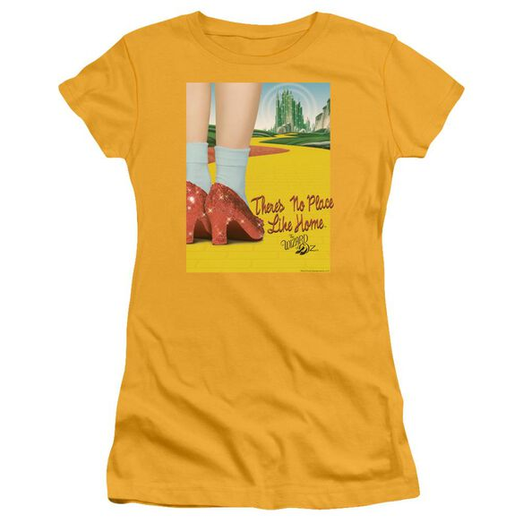Wizard Of Oz The Way Home Short Sleeve Junior Sheer T-Shirt